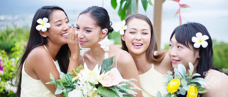 ブライズメイド・ドレスレンタルはリディアハワイへ