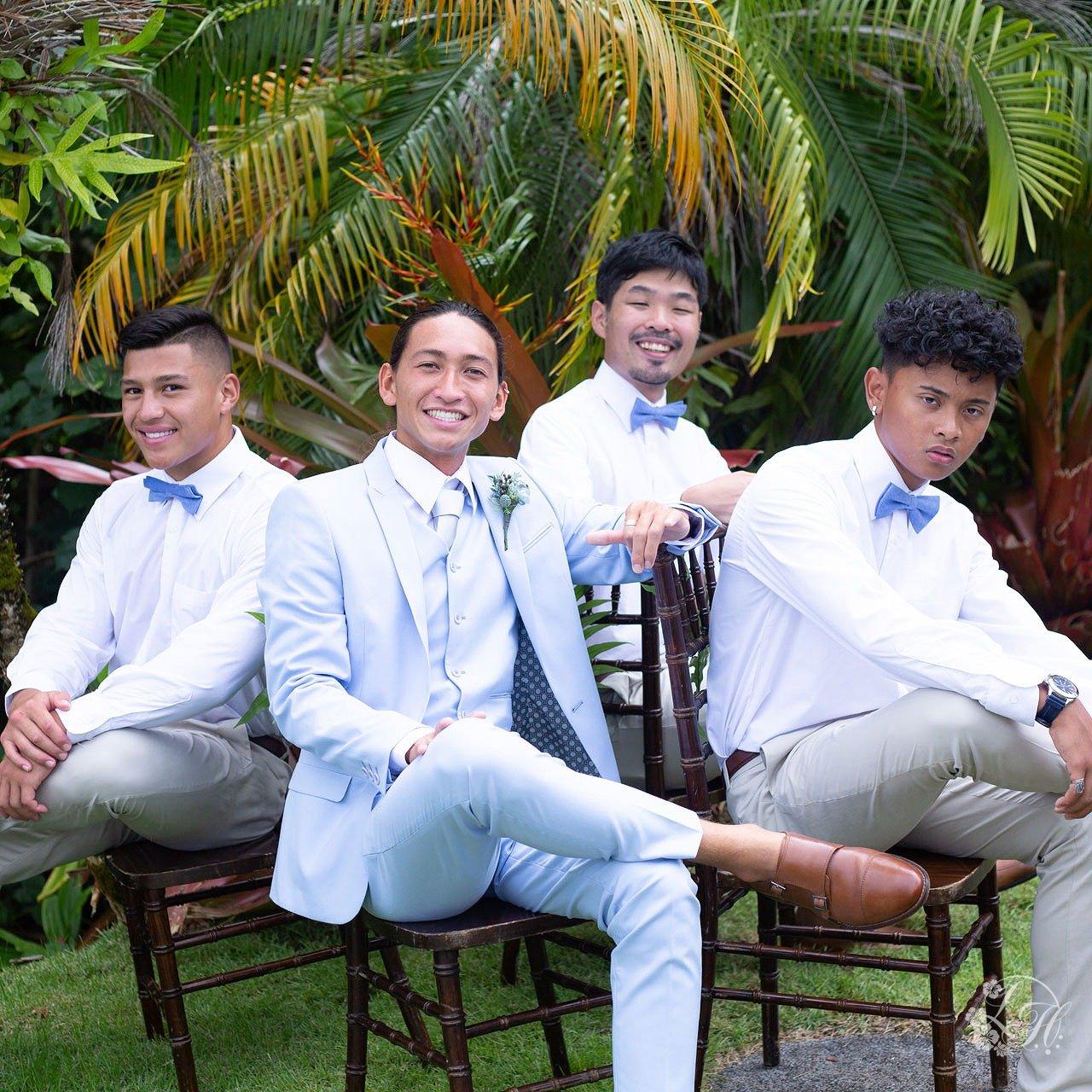 ハワイのグルームズマン